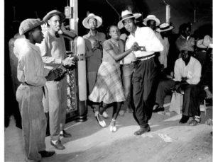 Блюз, афро-американский вернакулярный танец.